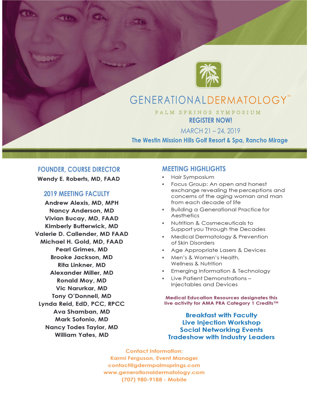 , National Meeting for Dermatologists and Skin Experts